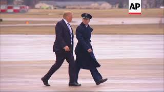 Trump Departs White House, Heading to Florida