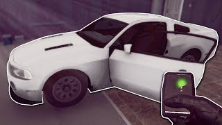 HACKING AND STEALING AN EXPENSIVE CAR! - Thief Simulator Gameplay