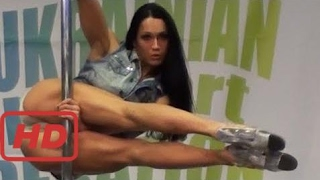 Ukrainian exotic pole dancer - competition 2014  #FIC