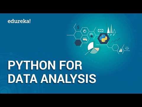 Python For Data Analysis | Python Pandas Tutorial | Learn Python | Python Training | Edureka