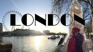 London Vlog - Big Ben, Winter Wonderland, London Eye, Oxford Street, trafalgure square