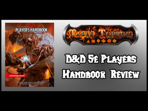 Dungeons & Dragons 5e Player's Handbook Review