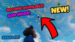 Fortnite Glitches Season 5 (New) Become Invisible God Mode on PS4/Xbox one 2018