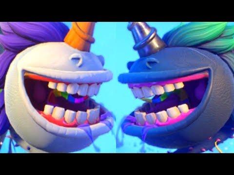 Twilight Chomper VS Unicorn Chomper - Plants Vs Zombies Garden Warfare 2 PVZGW2 Update