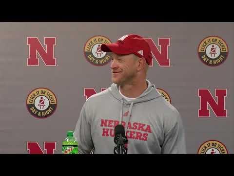 Scott Frost following first win as Nebraska head coach: 'Can't thank the fans enough'