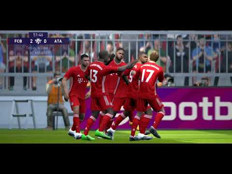 20210411_Superstar FC BAYERN MÜNCHEN 2-1 ATALANTA | eFootball PES 2021 | Highlights |