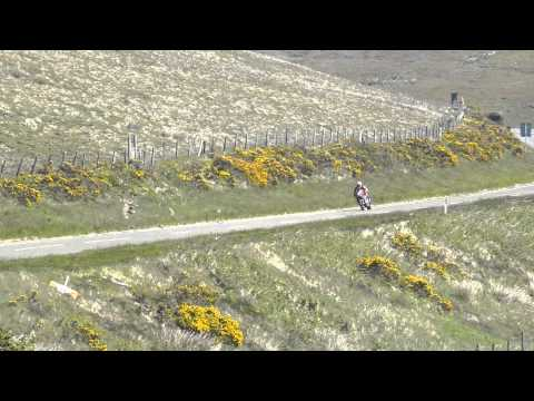 Isle of Man TT 2015 - Lee Johnston in TT Zero race
