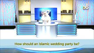 How should an Islamic Wedding Party be? When will it be an Extravagance? - Sheikh Assim Al Hakeem