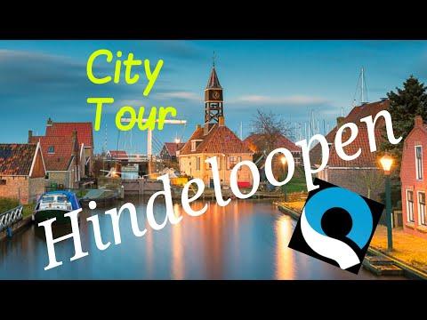 Hindeloopen, Friesland, The Netherlands.. City Tour.. GoPro Quik