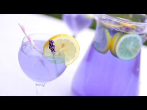 DIY: Luscious Lavender Lemonade