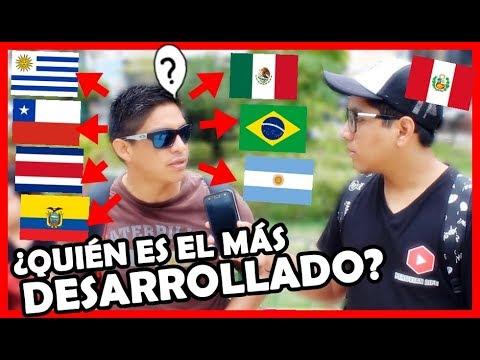 ¿Qué país es más Desarrollado de Latinoamérica? | Peruvian Life