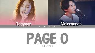 {Han/Rom/Vostfr} TAEYEON & MELOMANCE (태연 & 멜로망스) - Page 0 [SM STATION]