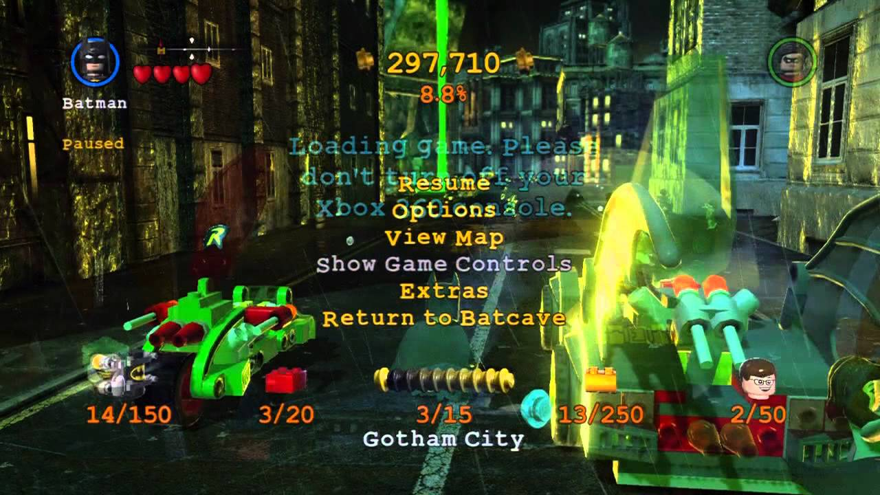 Lego batman 2: dc super heroes cheats and unlockers vgfaq.