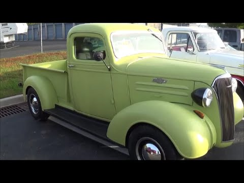 1937 Chevy Truck  YouTube