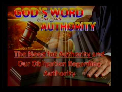 """""""The Need For Authority and Our Obligation To It"""" Hammond Church of Christ 06/18/2017 by Bill White"""