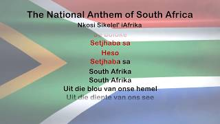 South African National Anthem - ProTrax Karaoke Demo