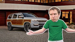 Here's What I Think of the New Jeep Grand Wagoneer