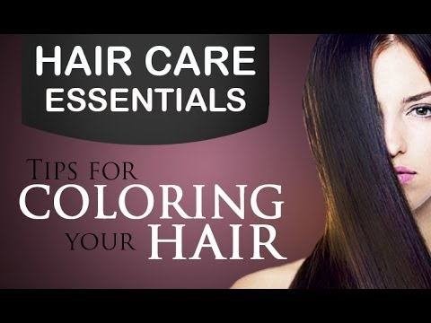 Tips For Colouring Your Hair In Malayalam Youtube