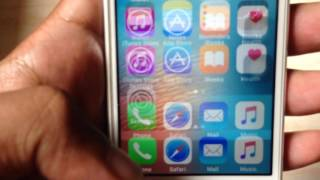 Iphone 5s screen blur/flickering/shaking problem