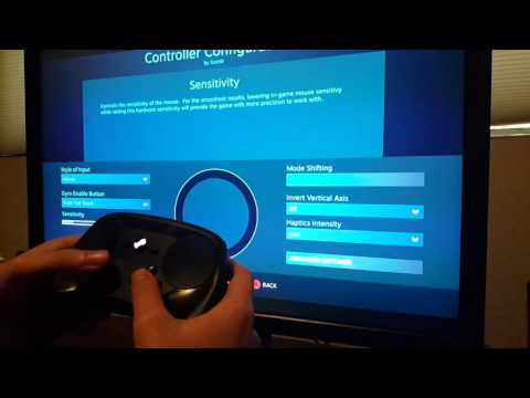 Steam Controller Motion Controls Demonstration in MGSV