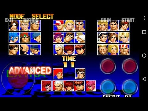 King Of Fighter 97 Plus Game For Android With Download Link Only APK