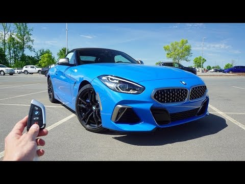 2020 BMW Z4 sDrive M40i: Start Up, Exhaust, Test Drive and Review