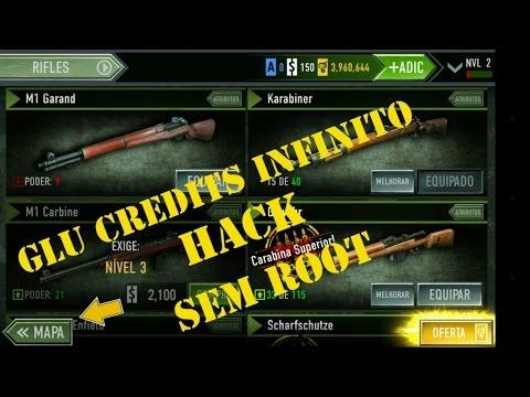 Glu credits infinitos no Frontline commando e outros jogos da glu (sem root)