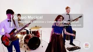 Grupo Musical | Registra tus Canciones y Composiciones en Blockchain | www.Solvaip.com
