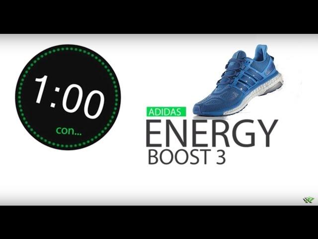 best loved 7bdbe 37367 Adidas Energy Boost 3 Características - Zapatillas Running
