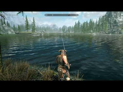 Skyrim Fishing (Skyrim Mod)