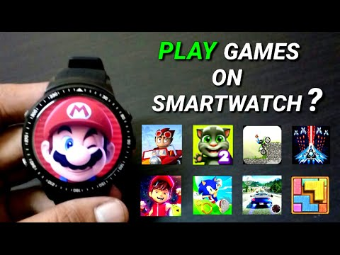 Play Games On Smartwatch Android ? -Test -1GB Ram 16GB Rom