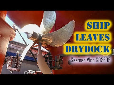Our Ship Leaves the Dry Dock | Seaman Vlog S03E05 | Chief MAKOi