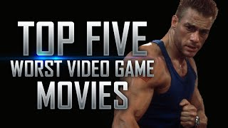 Top 5 Worst Video Game Movies in History
