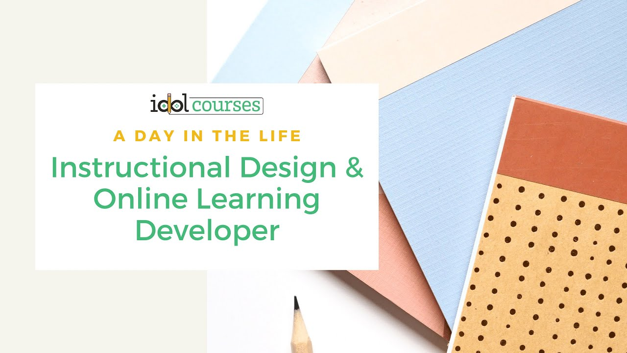 A Day In The Life Of An Instructional Designer And Elearning Developer Youtube