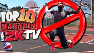 TOP 10 BANNED From 2KTV PLAYS Of The WEEK! - NBA 2K18 Highlights
