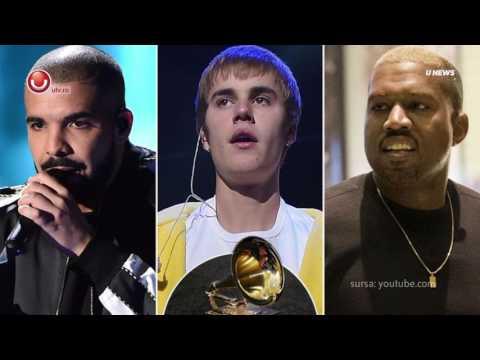 UNews: Drake, Bieber si West sunt anti-Grammy @Utv 2017