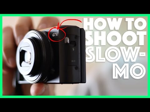 How to shoot Slow Motion Video with the Canon G7x Mark ii