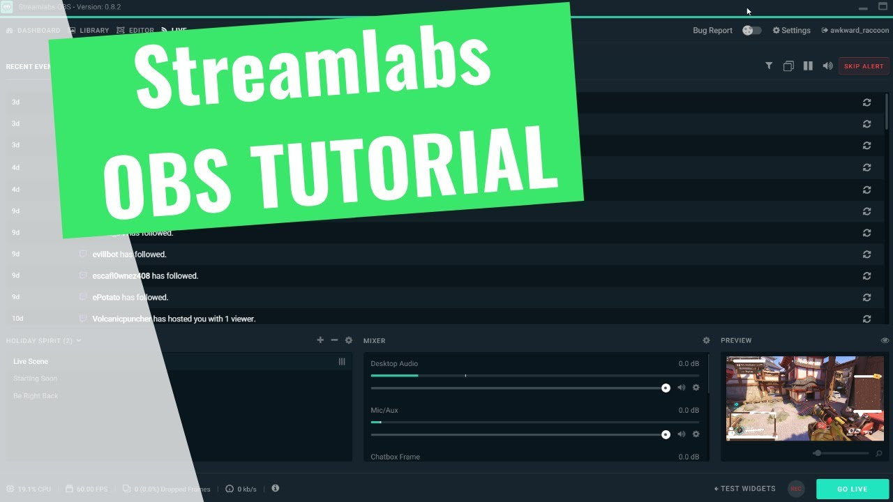 How to stream with Streamlabs OBS - SLOBS vs OBS - Kephren