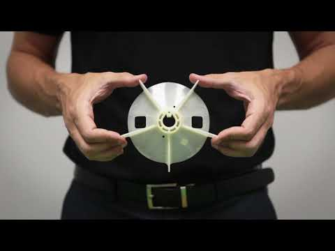 Toshiba Motor Parts Video Tutorial - Part 7 - Nylon Fan