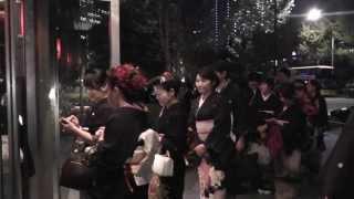 【黒留NIGHT™ in東京2013】オープン風景少し@TOKIA1027 kurotome night