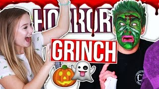 JOEY WIRD VERUNSTALTET! Der Grinch - Halloween Edition | Julia Beautx