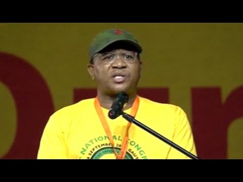 Thumbnail: Fikile Mbalula addresses ANCYL congress
