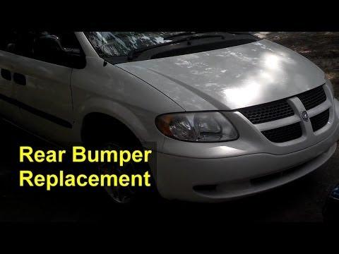 Rear Bumper Cover Replacement, Dodge Grand Caravan - Auto Repair Series