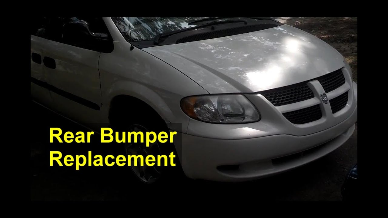 Rear Bumper Cover Replacement Dodge Grand Caravan Auto