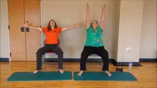 Forever Fit 25 minute Chair Exercise Routine for the ENTIRE BODY