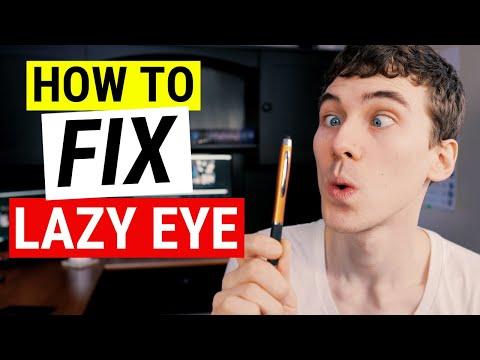 HOW TO FIX LAZY EYE | Amblyopia Treatment Strategies