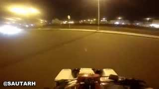 Police Chases Quad-bike Epic Escape