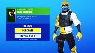 New hard charge skin and glider ( live game play ) Fortnite battel royal