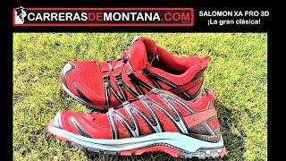 SALOMON XA PRO 3D 2019: Zapatillas trail y montaña. ¡La gran clásica! Análisis por @cercedillatrail