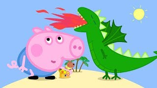 Peppa Pig Episodes in 4K | George and the BIG Dragon! | Cartoons for Children thumbnail